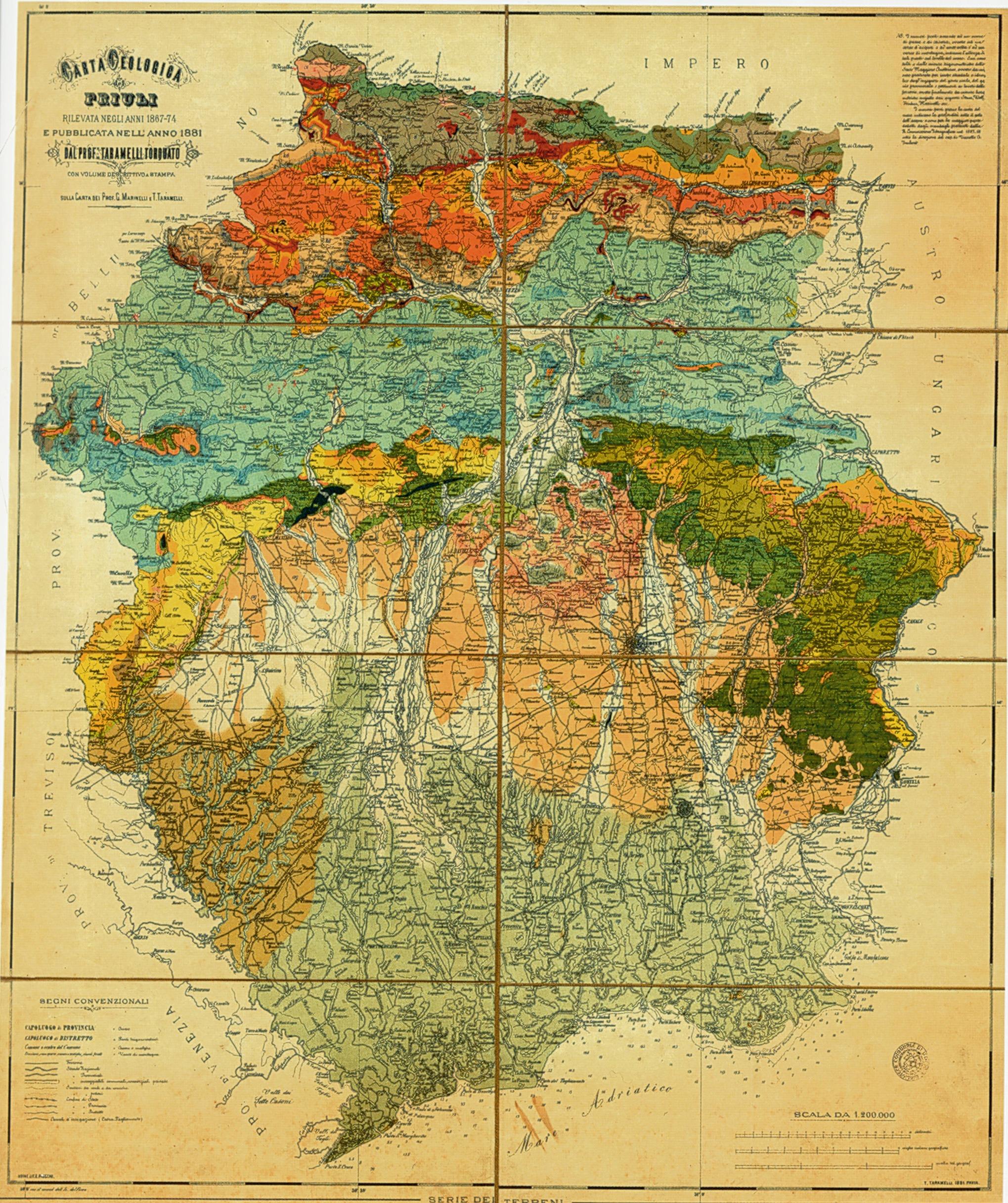 Cartina Geografica Provincia Venezia