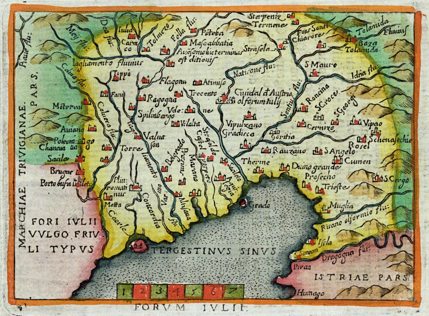 Cartina Del Veneto E Friuli.Dizionario Biografico Dei Friulani